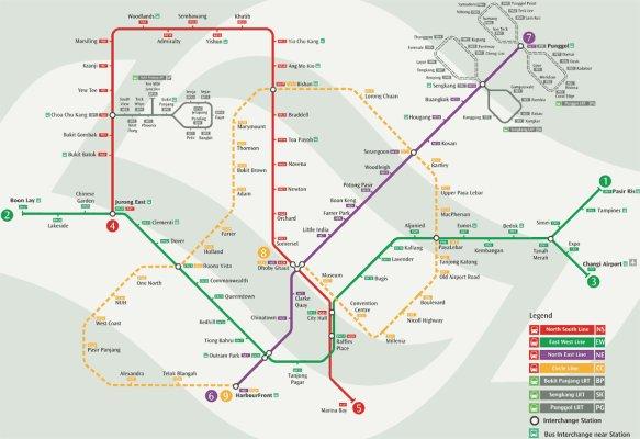 plan mrt singapur