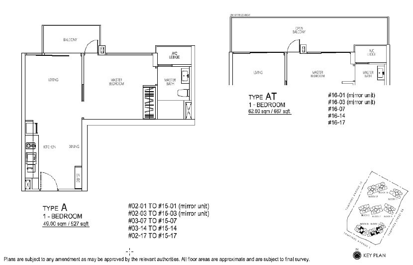 Floor Plan 1 BR