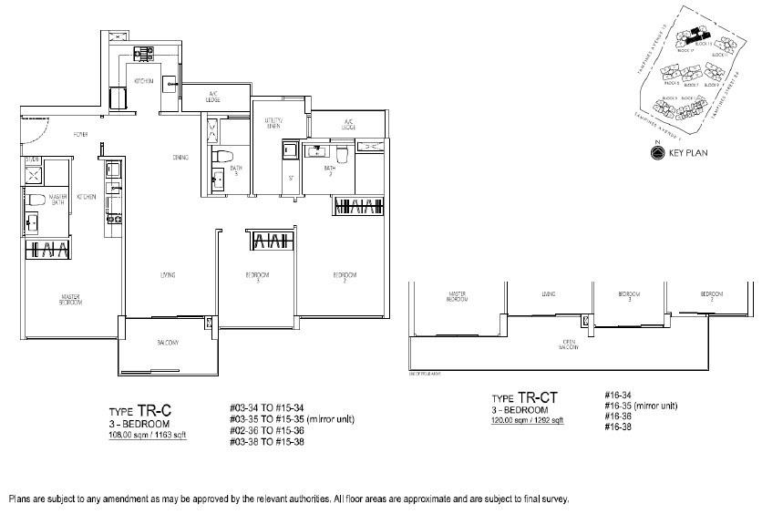 Floor Plan 3 Trio BR