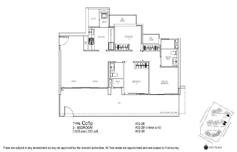 Floor Plan 3+U BR