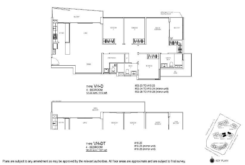 Floor Plan 4 BR