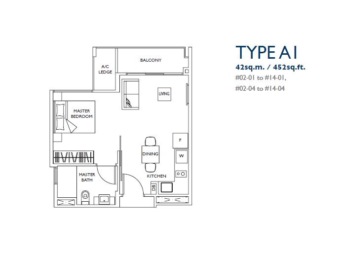 luxurie floor plan a1