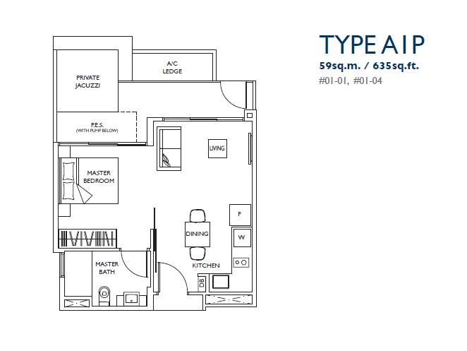 luxurie floor plan a1p