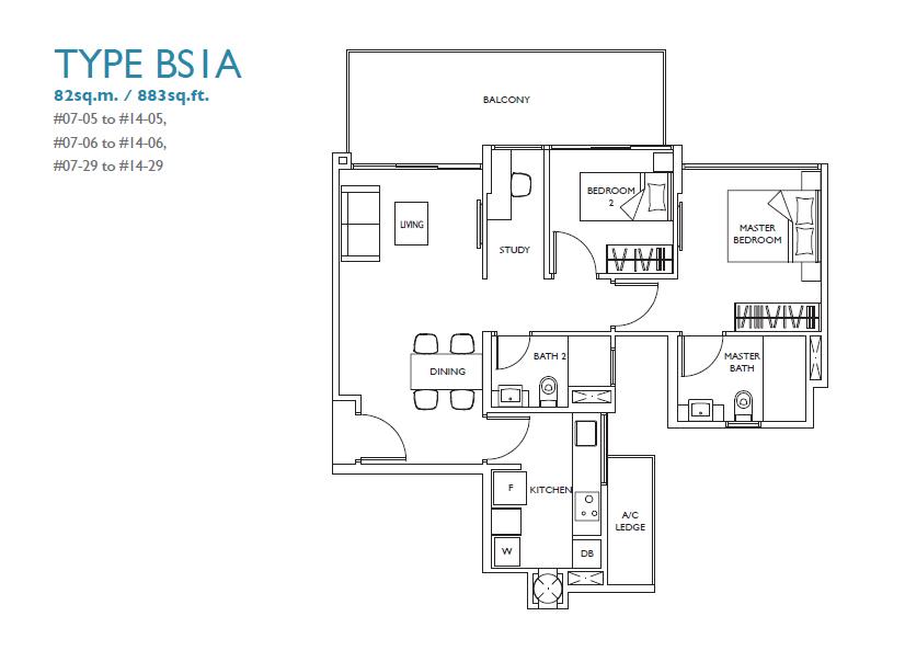 luxurie floor plan bs1a