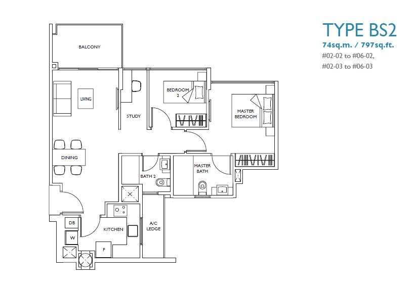 luxurie floor plan bs2