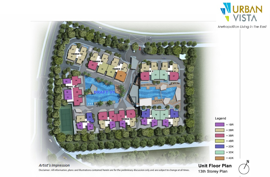 Urban Vista site plan