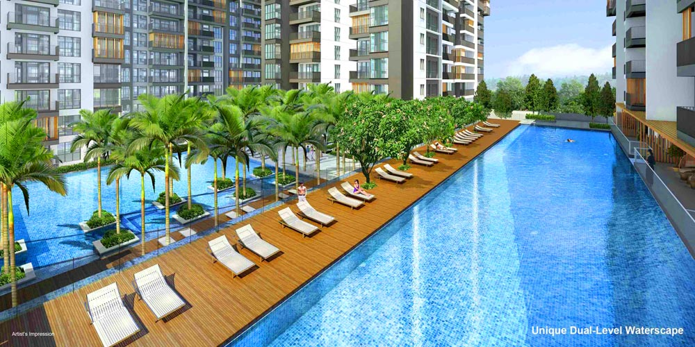 Jewel-Condo-Buangkok-Dual-Level-Waterscape