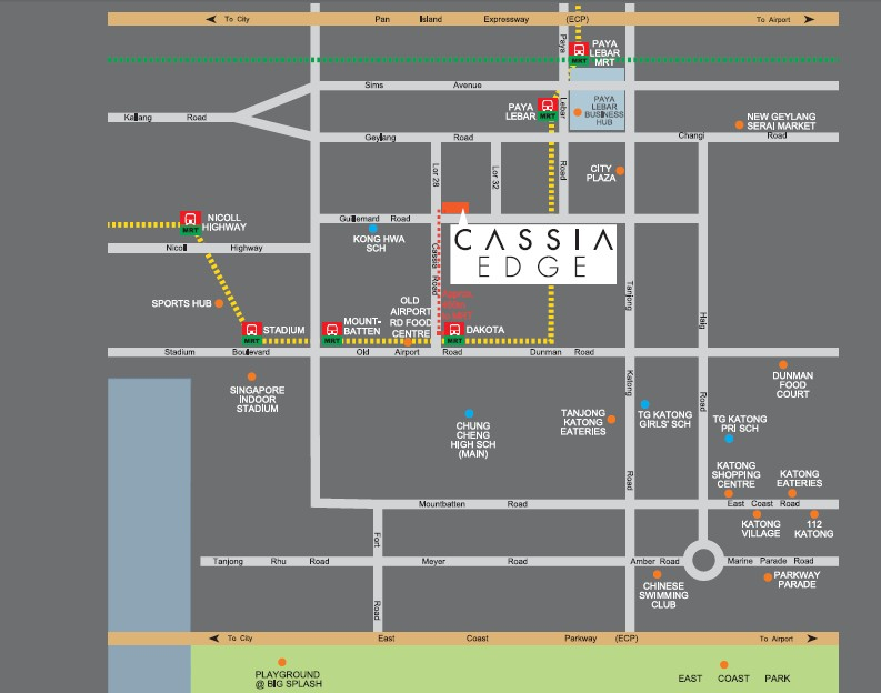cassia edge location