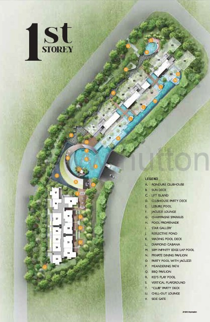 j gateway site map 1st