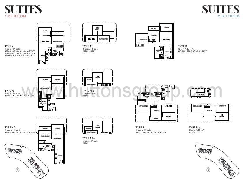 j gateway suites 1br 2br