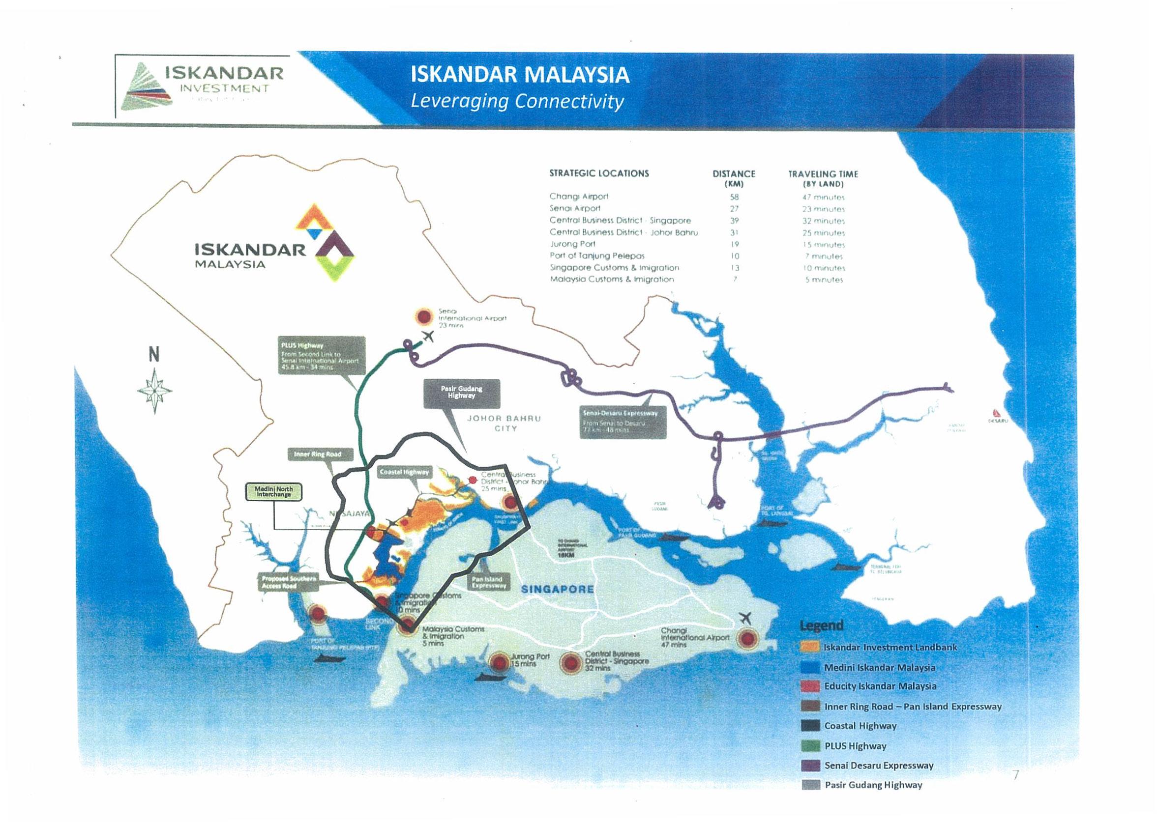 Meridian @ Medini map