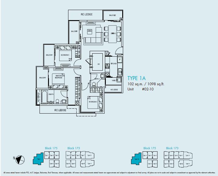 ocean front suites type 1a