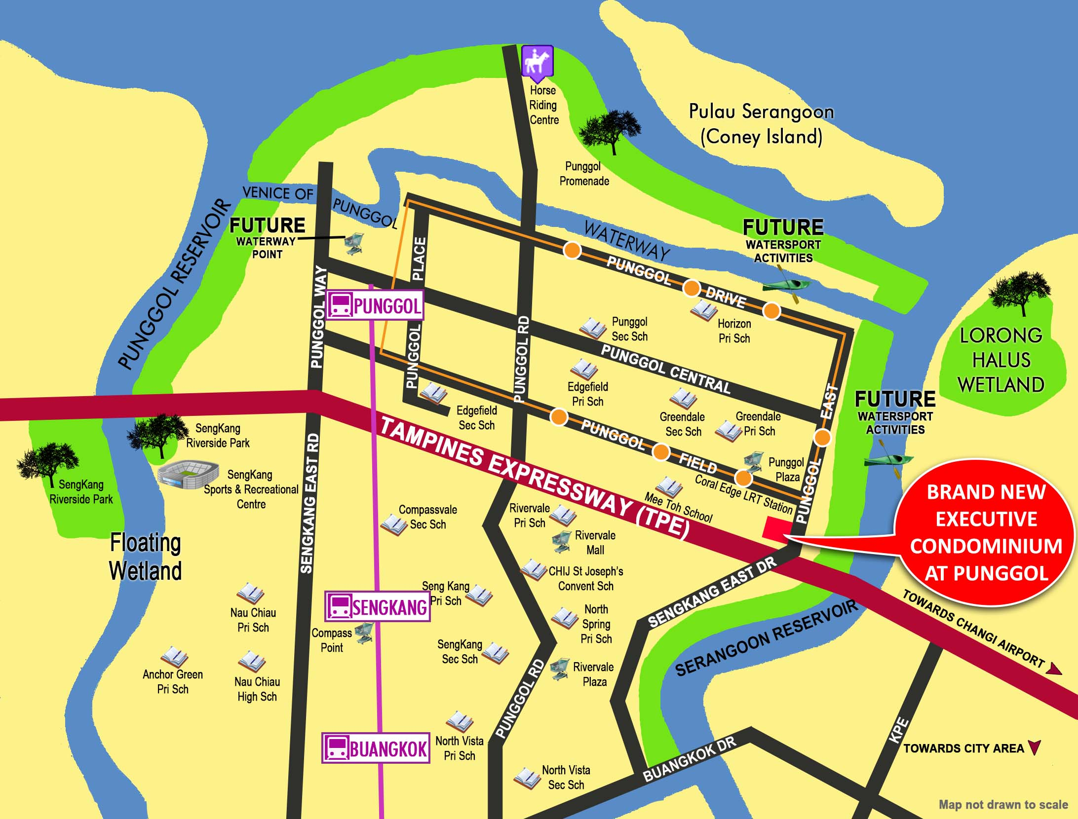 Punggol EC Location Map
