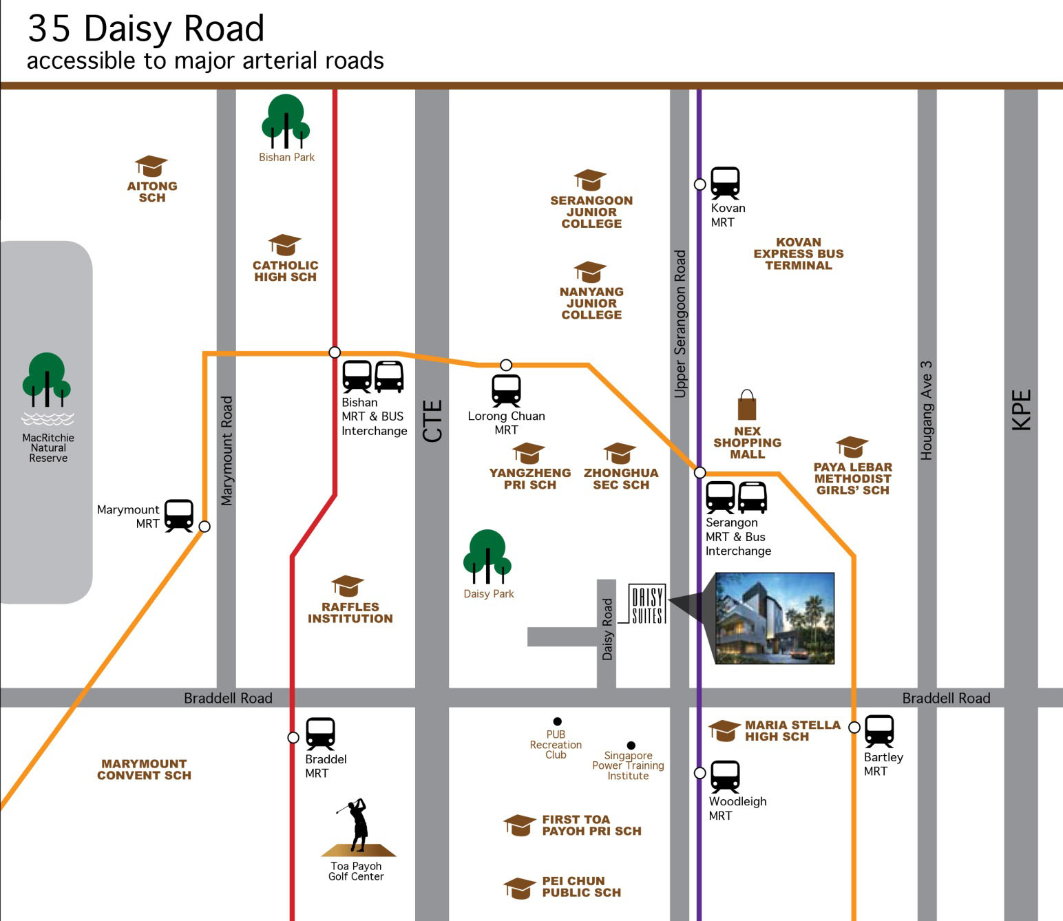 daisy suites site location