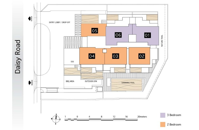 daisy suites site map 2