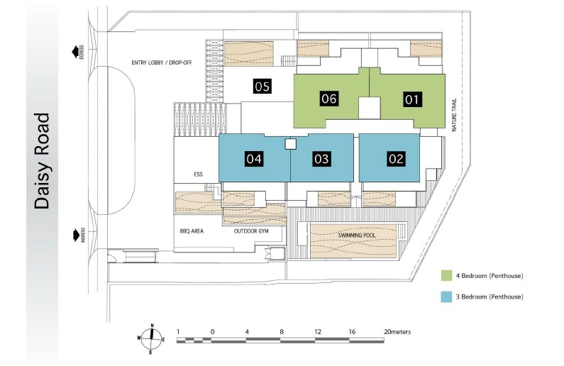 daisy suites site map 3