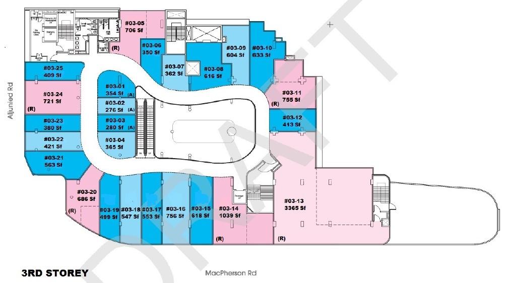 Macpherson Mall - 3rd storey